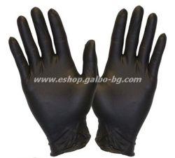 Ръкавици за еднократна употреба НИТРИЛ ЧЕРНИ  100 бр. XL