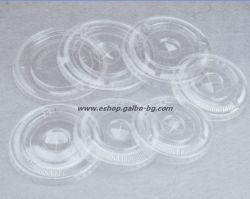 Капак CL95F мм за РЕТ чаша, плосък с цепка за сламка 1000 бр