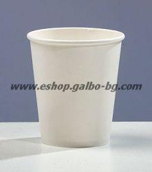 Бяла картонена чаша 7 oz (150 мл, 300 гр/м2) 1000 бр.