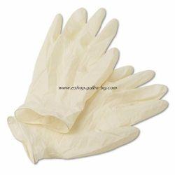 Ръкавици за еднократна употреба Латекс 100 бр. S БЕЛИ
