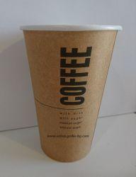 Картонена чаша 16 oz (400 мл) KRAFT COFFEE  40 бр