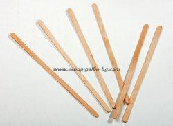Дървена бъркалка за кафе - 14 см 500 бр.