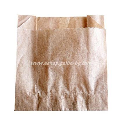 Хартиен плик за картофки 9,5*4*10,5 см, кафяв маслоустойчив, 1000 бр