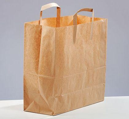 Чанта за меню с дръжки, 32/16/37 см - 125 бр.