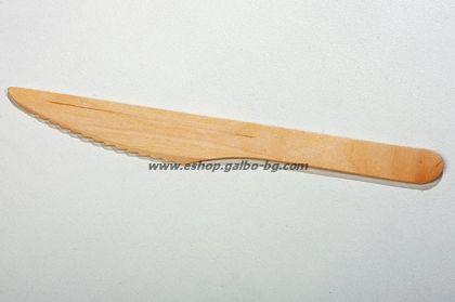 Дървен нож  100 бр