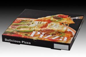 Кутия за пица 33,5*33,5*3,5 см 100 бр