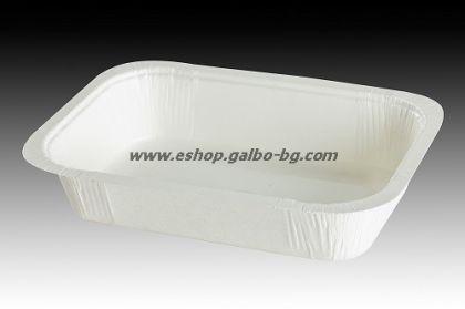 Картонена кутия за храна 540 мл (правоъгълна)  100 бр