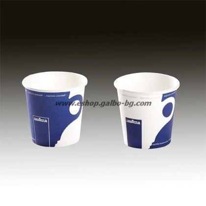 Картонена чаша 4 oz (80 мл) LAVAZZA 50 бр.