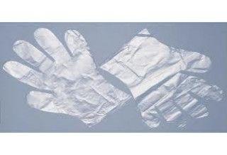 Ръкавици за еднократна употреба HDPE 100 бр.