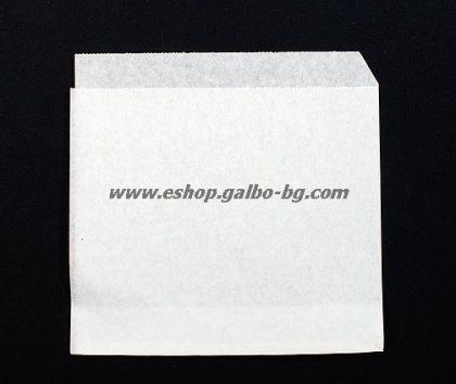 Хартиен плик L-джоб 17/21+2 см, маслоустойчив 1000 бр