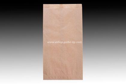 Хартиен плик за закуски 16/5/31 см кафяв маслоустойчив без печат 1000 бр