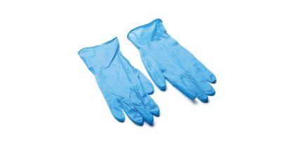 Ръкавици за еднократна употреба НИТРИЛ СИНИ  100 бр. L