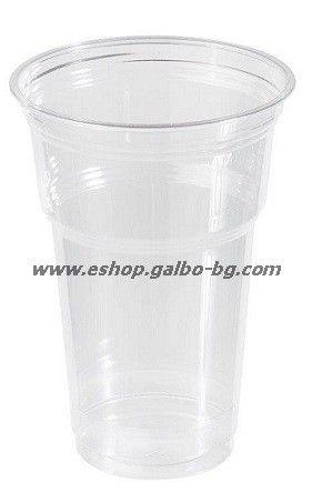Прозрачна (РЕТ) чаша 16 oz (400 мл) Special, 1000 бр