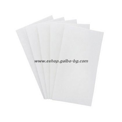 Бели салфетки 1/8, 33 см, 500 бр в пакет