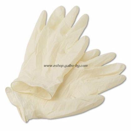 Ръкавици за еднократна употреба Латекс 100 бр. L