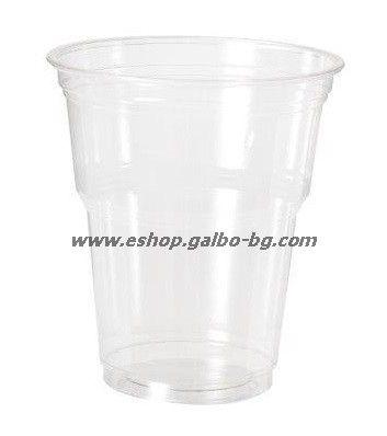 Прозрачна (РЕТ) чаша 12 oz (300 мл) Special, 50 бр.