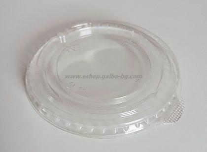 Капак CL95 за РЕТ чаша, плосък без отвор, с ушенце 1000 бр