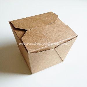 Картонена крафт кутия за паста и спагети 900 мл  40 бр