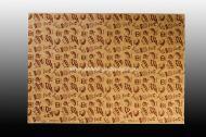 Хартия маслоустойчива кафява 35*50 см - 500 листа с печат ПЕКАРНА