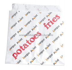 Плик за малки картофки с печат ВР, размер 11*11 см, 4500 бр