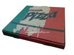 Кутия за пица Hot & Fresh  40*40*3,5 см 100 бр
