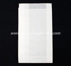 Хартиен плик за сандвичи 12/5/21 см бял маслоустойчив 1000 бр