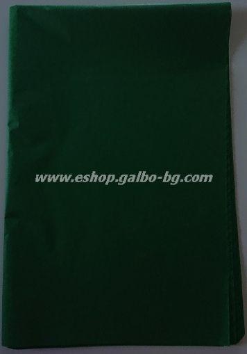 Тишу хартия 50х76 см, зелена, 20 листа
