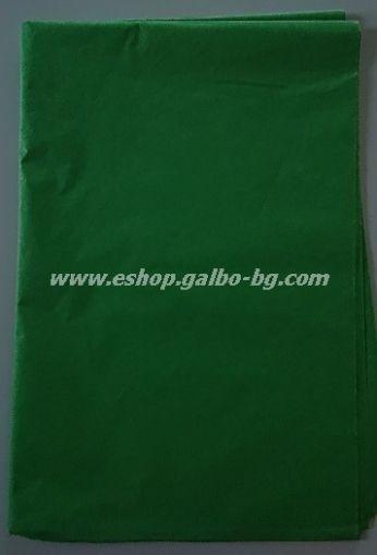 Тишу хартия 50х76 см, тревистозелена, 20 листа