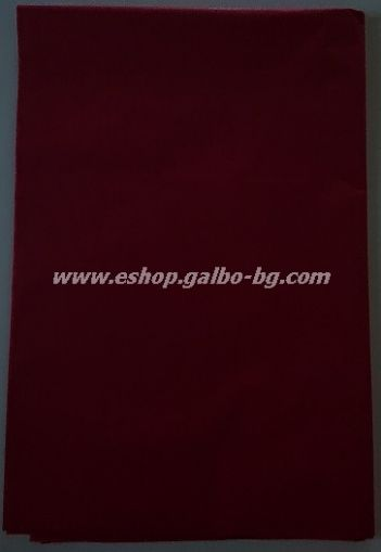 Тишу хартия 50х76 см, тъмночервена, 20 листа