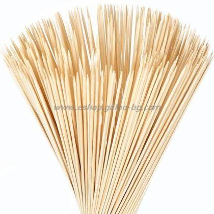 Бамбуков шиш 30 см  100 бр