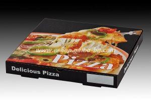 Кутия за пица ЧЕРНА 30*30*3,5 см