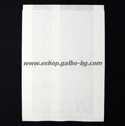 Хартиен плик за сандвичи 16/5/31 см БЯЛ маслоустойчив 1000 бр