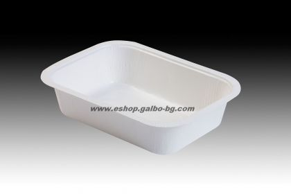 Формована картонена кутия за храна  NP 04 710 мл (правоъгълна)  100 бр