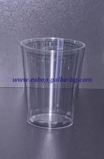 Прозрачна (PS) чаша за шот 40 мл 50 бр