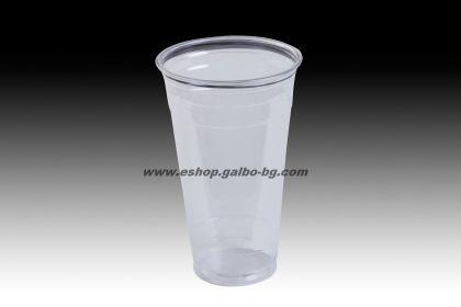 Прозрачна (РЕТ) чаша 20 oz (500 мл) 50 бр